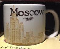Starbucks Icon Mini Moscow mug