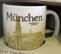 Starbucks Icon Mini Munchen mug