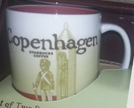 Starbucks Icon Mini Copenhagen mug
