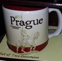 Starbucks Icon Mini Prague mug