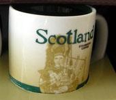 Starbucks Icon Mini Scotland mug