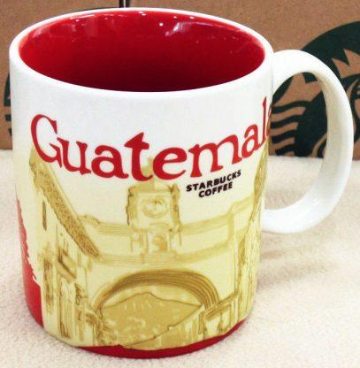 Starbucks Icon Guatemala mug