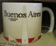 Starbucks Icon Mini Buenos Aires mug