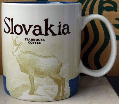 Starbucks Icon Slovakia mug