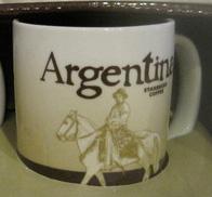 Starbucks Icon Mini Argentina mug
