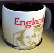 Starbucks Icon Mini England 2 mug