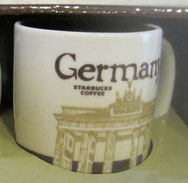 Starbucks Icon Mini Germany mug