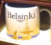 Starbucks Icon Mini Helsinki mug