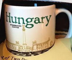 Starbucks Icon Mini Hungary mug
