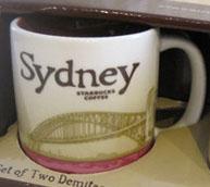 Starbucks Icon Mini Sydney mug