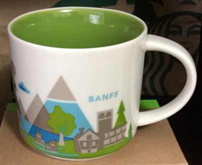 Starbucks You Are Here Banff mug