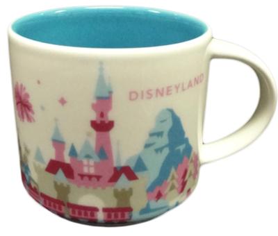 Starbucks You Are Here Disney Disneyland mug