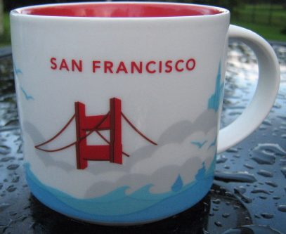 Starbucks You Are Here San Francisco mug