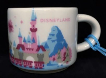 Starbucks You Are Here Ornament Disney Disneyland mug