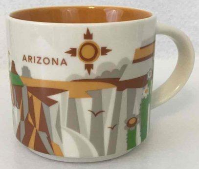 Starbucks You Are Here Arizona mug