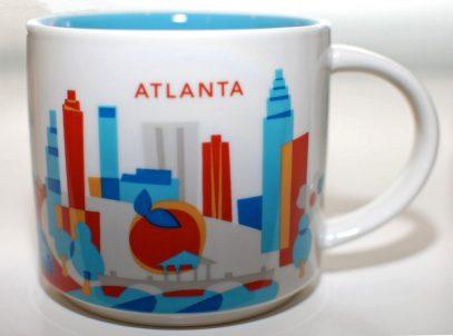 Starbucks You Are Here Atlanta mug