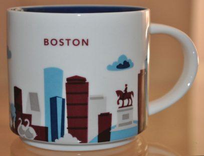 Starbucks You Are Here Boston mug