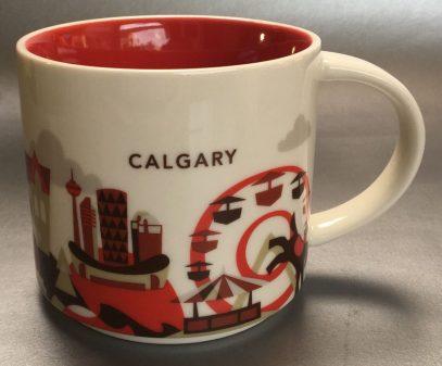 Starbucks You Are Here Calgary mug