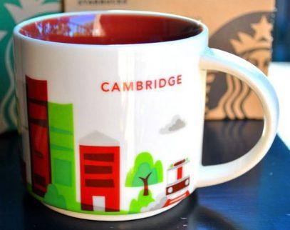Starbucks You Are Here Cambridge mug