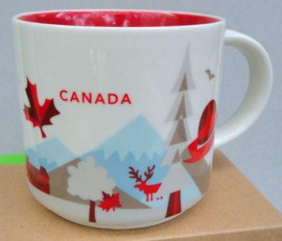Starbucks You Are Here Canada 2 mug