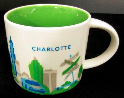 Starbucks You Are Here Charlotte mug