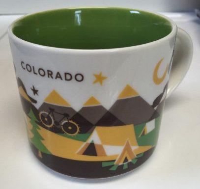 Starbucks You Are Here Colorado mug