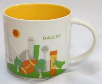 Starbucks You Are Here Dallas mug