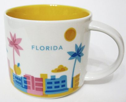 Starbucks You Are Here Florida mug