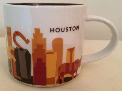 Starbucks You Are Here Houston mug