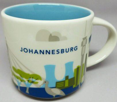 Starbucks You Are Here Johannesburg mug