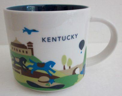 Starbucks You Are Here Kentucky mug