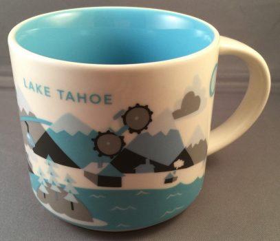 Starbucks You Are Here Lake Tahoe mug