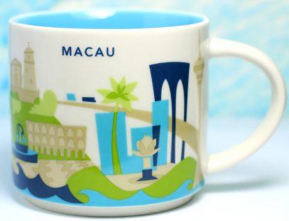 Starbucks You Are Here Macau mug