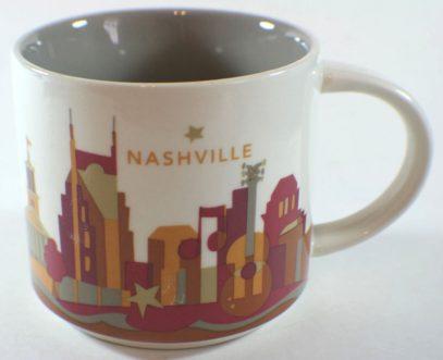 Starbucks You Are Here Nashville mug