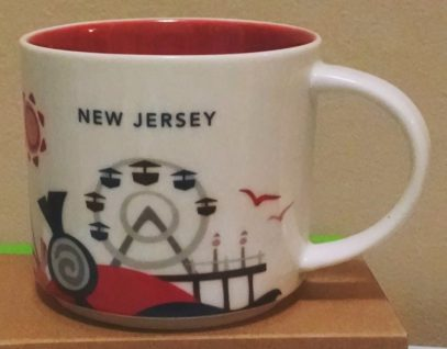 Starbucks You Are Here New Jersey mug