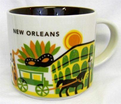 Starbucks You Are Here New Orleans mug
