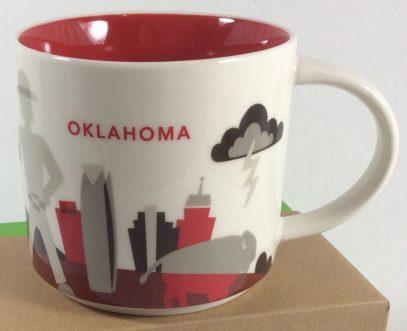 Starbucks You Are Here Oklahoma mug