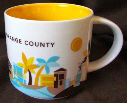Starbucks You Are Here Orange County mug