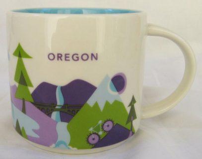 Starbucks You Are Here Oregon mug