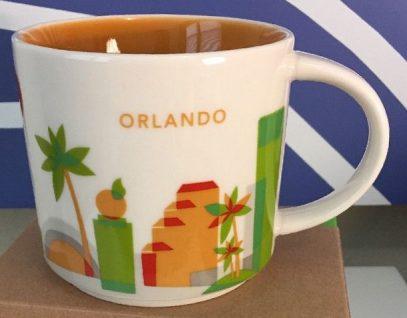 Starbucks You Are Here Orlando mug