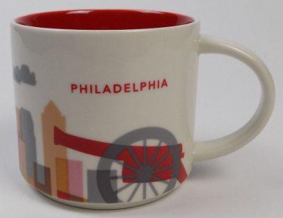 Starbucks You Are Here Philadelphia mug