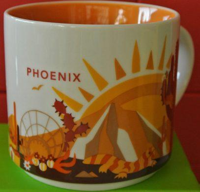 Starbucks You Are Here Phoenix mug