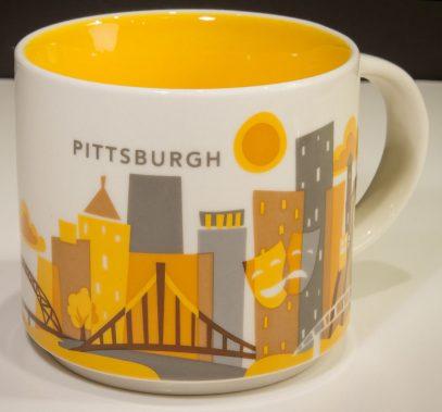 Starbucks You Are Here Pittsburgh mug