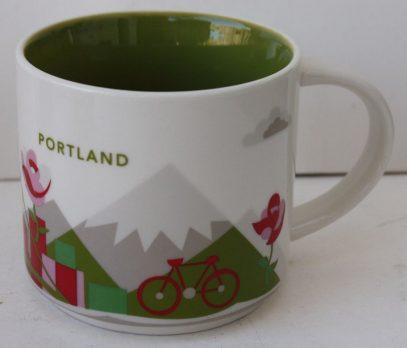 Starbucks You Are Here Portland mug