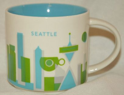 You Are Here Seattle Starbucks Mugs