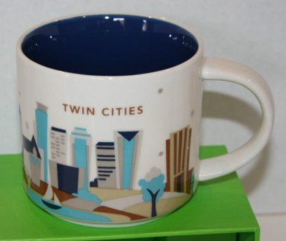 Starbucks You Are Here Twin Cities mug