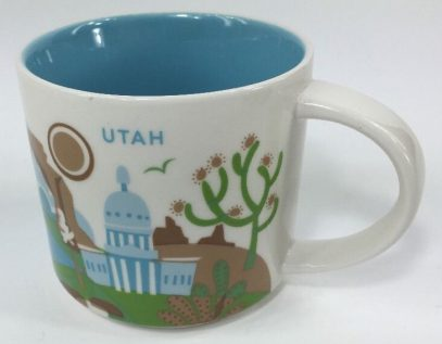 Starbucks You Are Here Utah mug