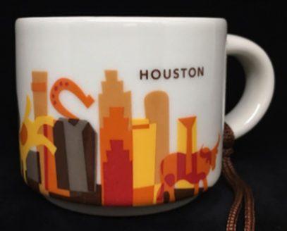 Starbucks You Are Here Ornament Houston mug