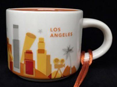 Starbucks You Are Here Ornament Los Angeles mug