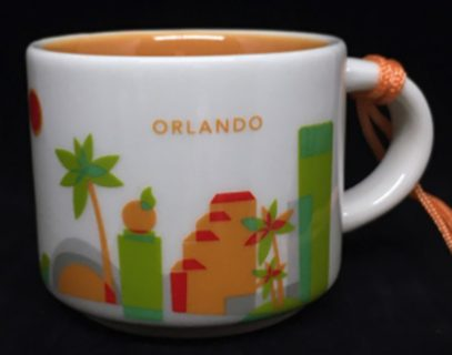 Starbucks You Are Here Ornament Orlando mug